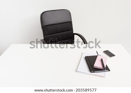Clean office space - stock photo
