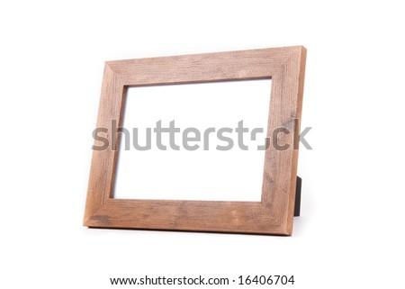 clean photo frame - stock photo