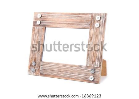clean photoframe - stock photo