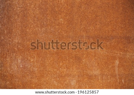 Clean Rusted Metal Background Texture - stock photo