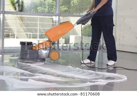 cleaning - stock photo