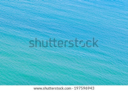 Clear blue sea water seascape abstract background  - stock photo