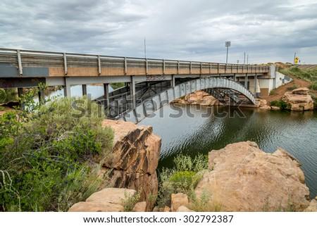Clear Creek Arizona - stock photo