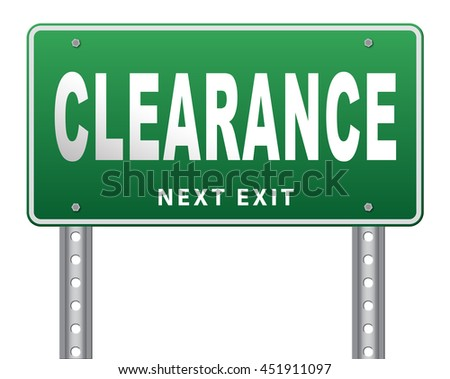 clearance grand sale sales and reduced prices % off authorization granted or denied by bill computer and information security 3D illustration, isolated, on white - stock photo