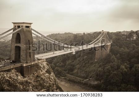 Clifton Bridge - stock photo