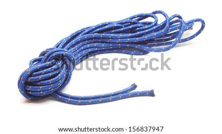 climbing rope - stock photo