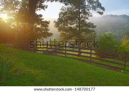 Clinton, Tennessee USA - stock photo