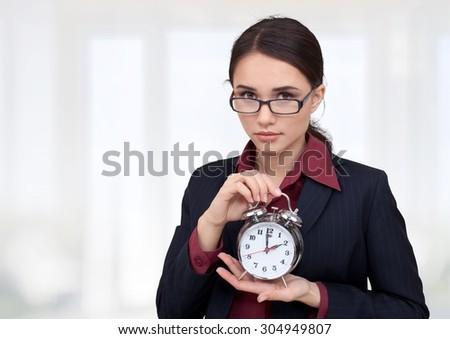 Clock. - stock photo