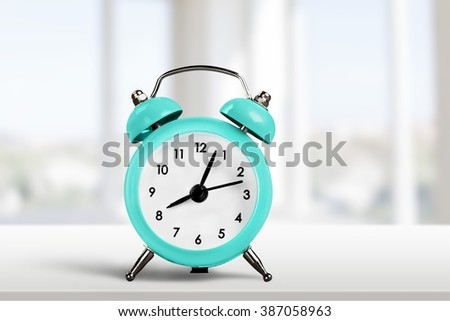 Clock. - stock photo