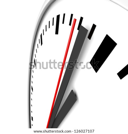 Clock and timestamp without numbers. - stock photo