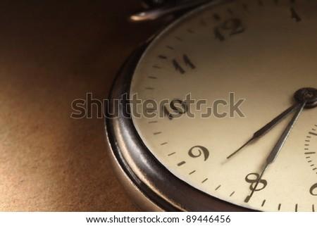 clock antique - stock photo
