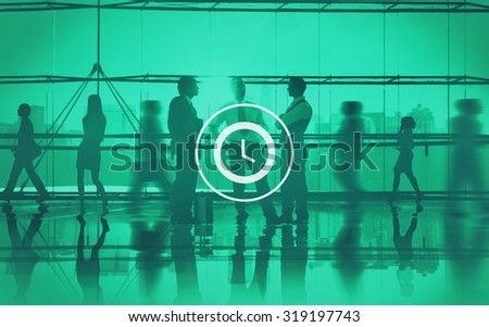Clock Time Timer Organization Hour Minute Concept - stock photo