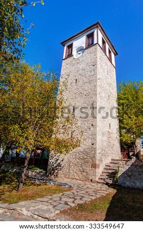 Clock Tower , Traditional town Safranbolu, Turkey - stock photo