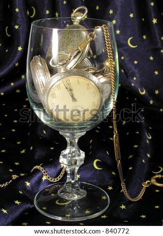 Clocks and time - stock photo