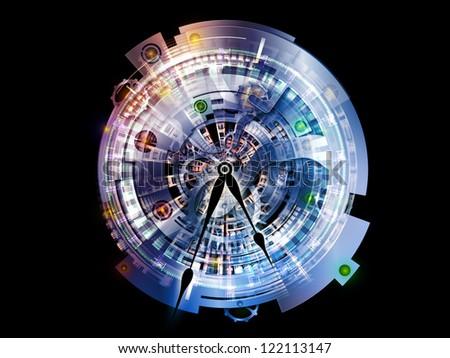 Clockwork Arrangement - stock photo