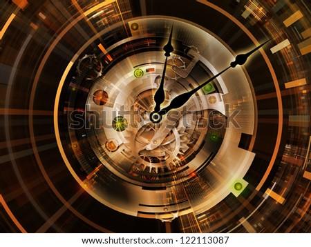 Clockwork Vision - stock photo