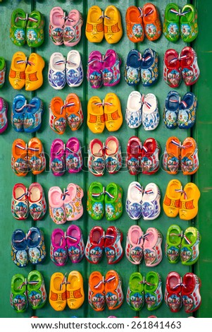 Clogs, Amsterdam, The Netherlands - stock photo