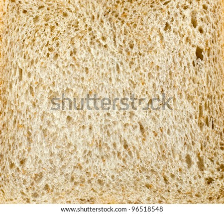 Close up bread texture as a background - stock photo