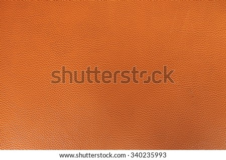 close up brown leather background and texture - stock photo