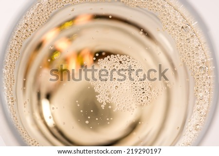 Close-up champagne - stock photo