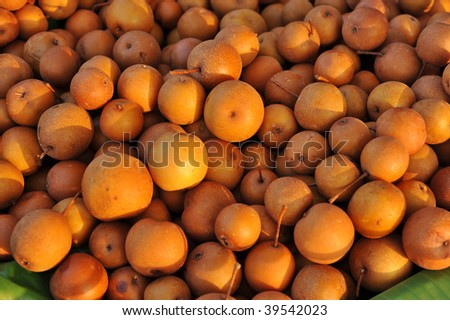 Close-up fruit - stock photo