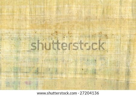 Close up grunge papyrus texture - stock photo