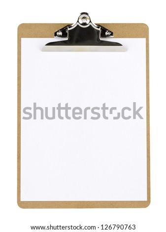 Close-up image of a notepad with blank paper. - stock photo