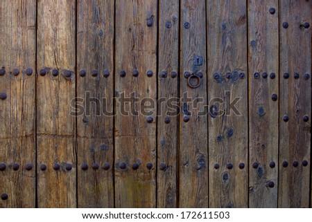 close-up image of  doors  - stock photo