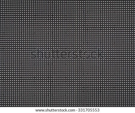 Close up LED TV display big screen panel seamless - stock photo