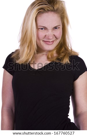 Close up of a Beautiful Girl  - stock photo