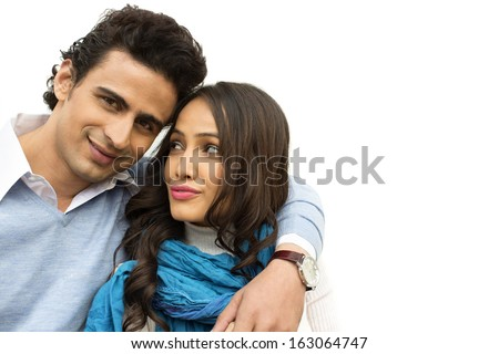 Close-up of a couple - stock photo