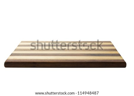 Close-up of a cutting board - stock photo