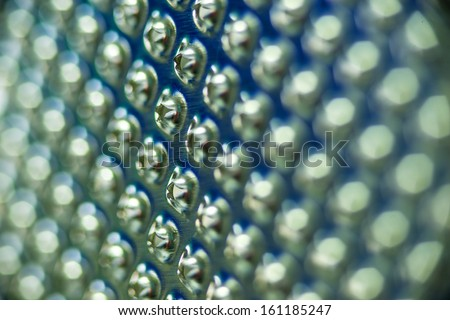 close-up of a food grater - stock photo