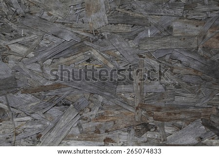 Close up of a recycle compressed wood surface - stock photo