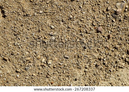 close-up of a sandstone soil - stock photo
