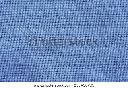 Close-up of a woven fabric - pure linen - stock photo