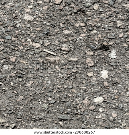 close up of asphalt texture background - stock photo