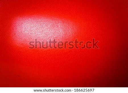 Close Up of Boxing Gloves Red Leather Skin Isolated on white for background, wallpaper or texture. - stock photo