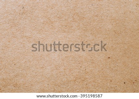 Close-up of craft paper texture as a background - stock photo