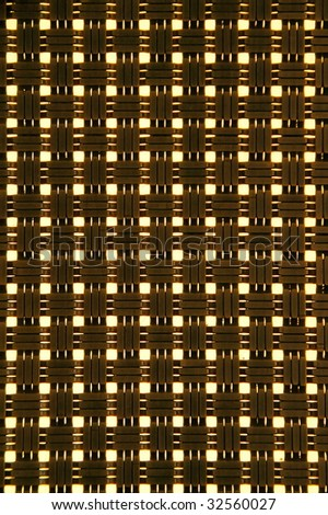 Close up of cross hatch pattern textured background - stock photo