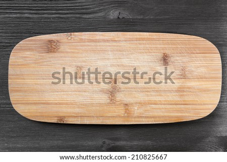 close up of cutting board - stock photo