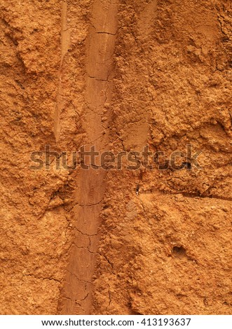 Close up of earth soil texture  - stock photo