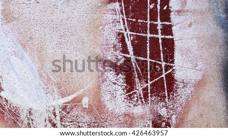 Close up of  grungy scratched metal  16:9