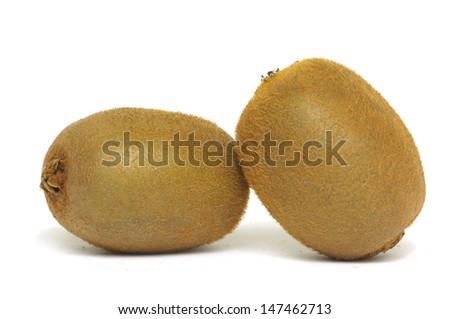 Close-up of kiwi fruits  - stock photo