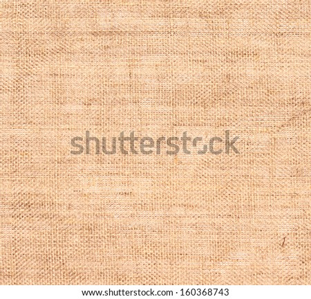 close up of linen texture - stock photo