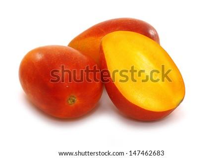 Close-up of mangoes  - stock photo