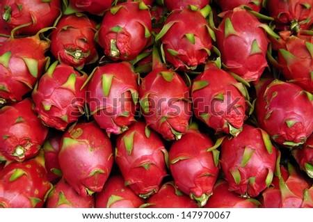 Close-up of pitayas  - stock photo