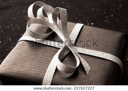 Close-up of present.  - stock photo