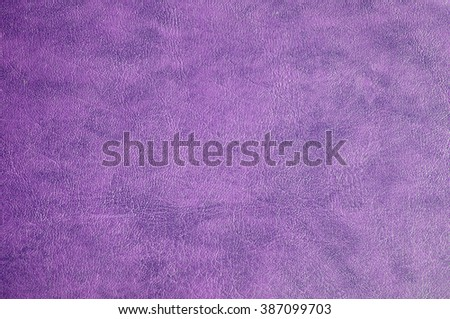 Close up of purple leather texture background - stock photo
