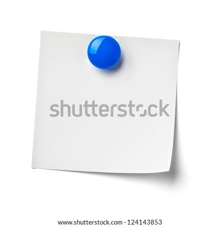 close up of reminder on white background refrigerator - stock photo